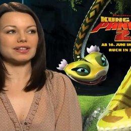 Cosma Shiva Hagen (Deutsche Stimme Viper) über den zweiten Teil von Kung Fu Panda - Interview Poster