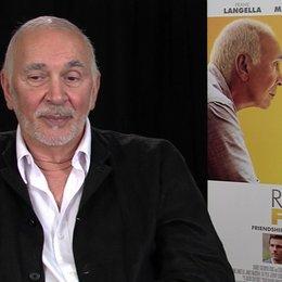 Frank Langella - Frank - über die Zusammenarbeit mit Jake Schreier und seinen CoStars - OV-Interview Poster