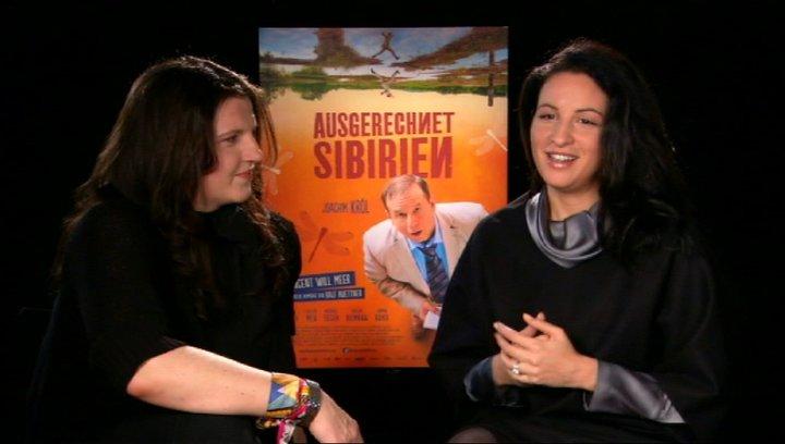 Minu Barati Skady Lis Produzentinnen über die Arbeit als Produzentinnen - Interview Poster