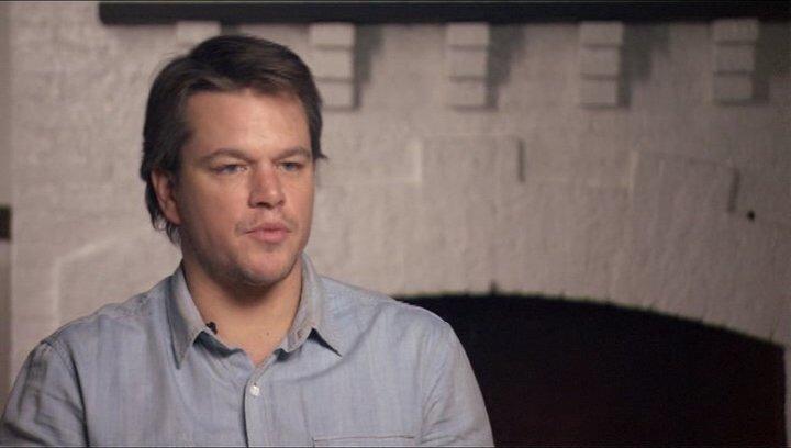 Matt Damon (La Boeuf) über Jeff Bridges - OV-Interview Poster