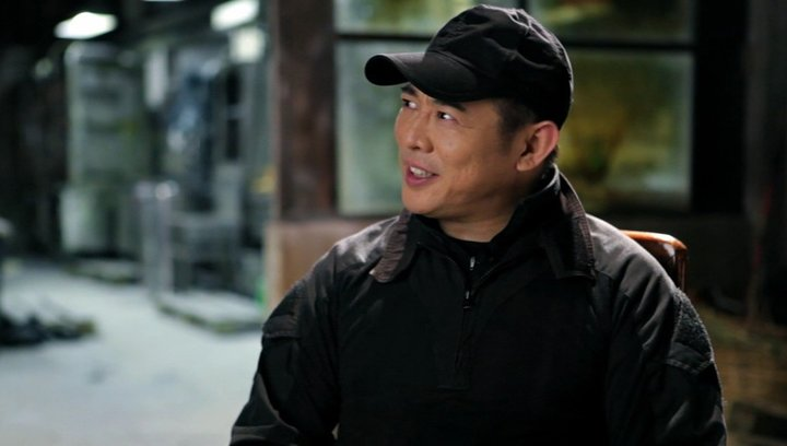 Jet Li -Yin Yang- über die Zusammenarbeit mit Regisseur Simon West - OV-Interview Poster