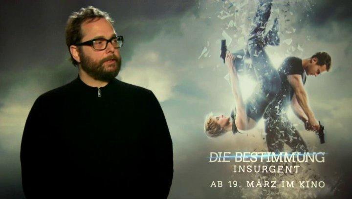 Robert Schwentke - Regisseur - was ihn an dem Projekt gereizt hat - Interview Poster