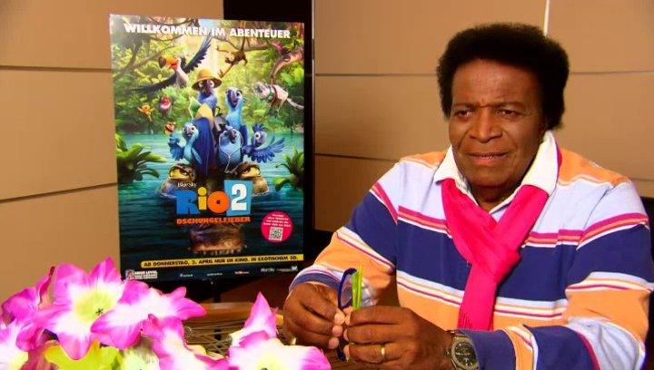 Roberto Blanco - Rafael - über die WM II - Interview Poster