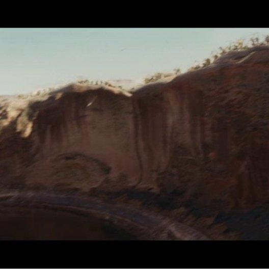 John Carter und Dejah entkommen - Szene Poster