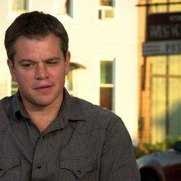 Matt Damon über die Entstehung der Geschichte - OV-Interview Poster