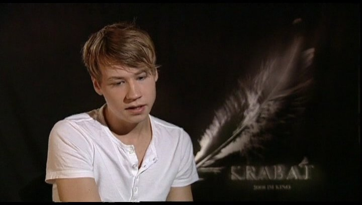 Interview mit David Kross (Krabat) Poster