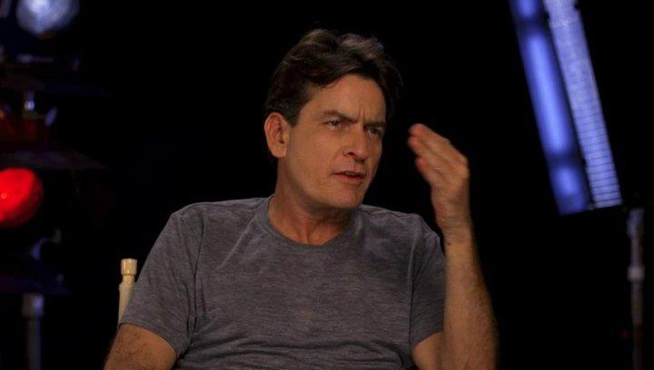 Charlie Sheen - OV-Interview Poster