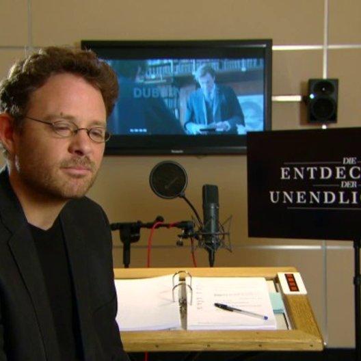 Timmo Niesner über die Herausforderung diese Rolle zu synchronisieren - Interview Poster