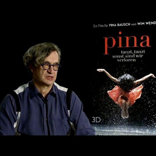 """Wim Wenders (Regie) über """"Was würde Pina über den Film sagen"""" - Interview Poster"""