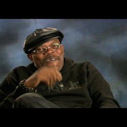 """Samuel L. Jackson - """"P.K. Highsmith"""" über die Stunts - OV-Interview Poster"""