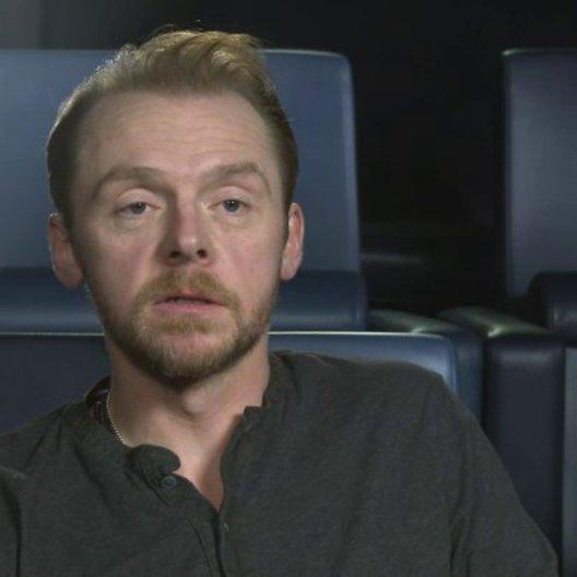 Simon Pegg - Jack - über das Drehbuch - OV-Interview Poster