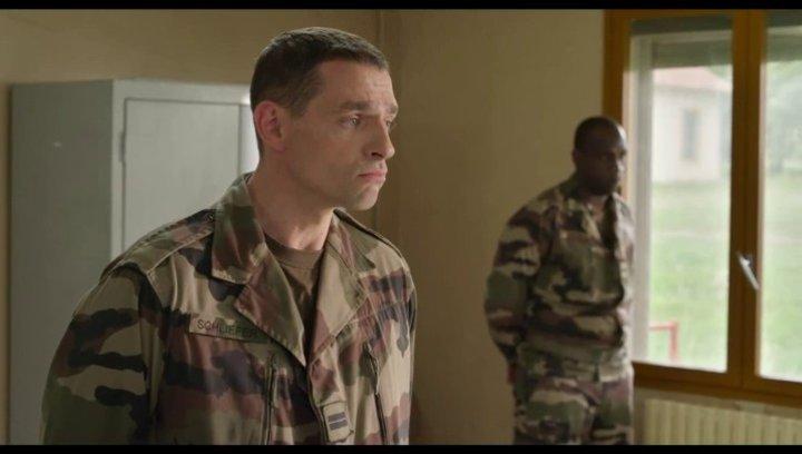 Lieutenant Schlieffer erklärt die Taktik - Szene Poster
