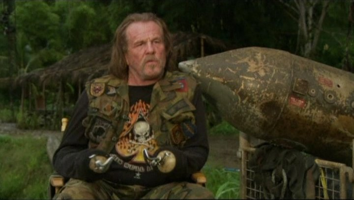 "Interview mit Nick Nolte (John ""Four Leaf"" Tayback) - OV-Interview Poster"