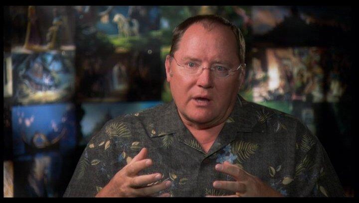 JOHN LASSETER - Ausführender Produzent / über Rapunzel - OV-Interview Poster