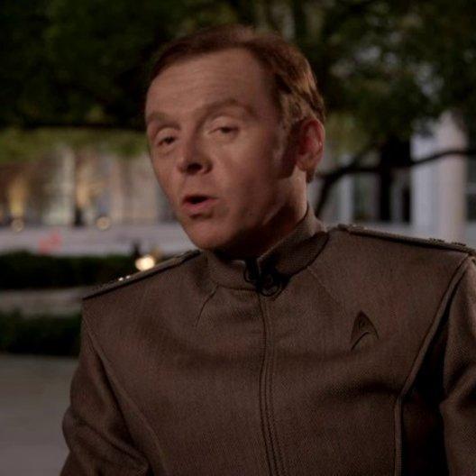 Simon Pegg - Scotty - auf was sich die Zuschauer freuen können - OV-Interview Poster