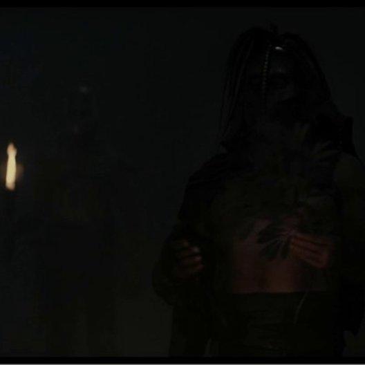Theseus steht Hyperion gegenüber - Szene Poster