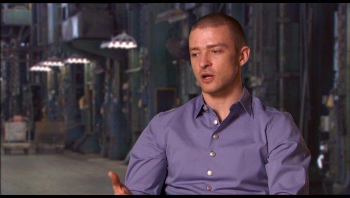 Justin Timberlake (Will Salas) über die Welt von In Time - OV-Interview Poster