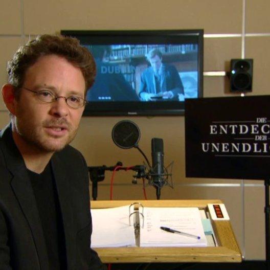 Timmo Niesner über die Synchronarbeiten - Interview Poster