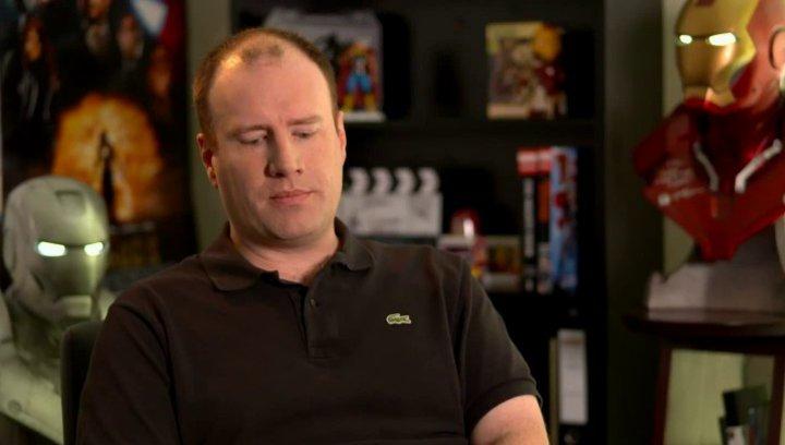 Kevin Feige - Produzent - über Tony Stark bzw Iron Man als Held - OV-Interview Poster