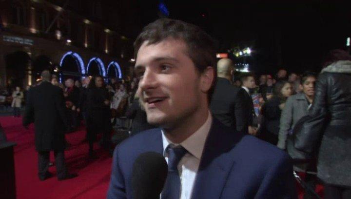 Josh Hutherson - Peeta Mellark - London Premiere - Sonstiges Poster