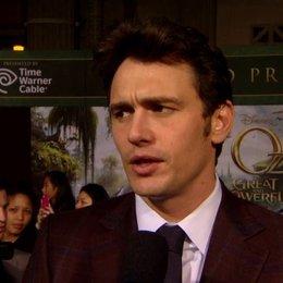 US Premiere - James Franco (Oz)  was die Zuschauer erwartet - OV-Interview Poster