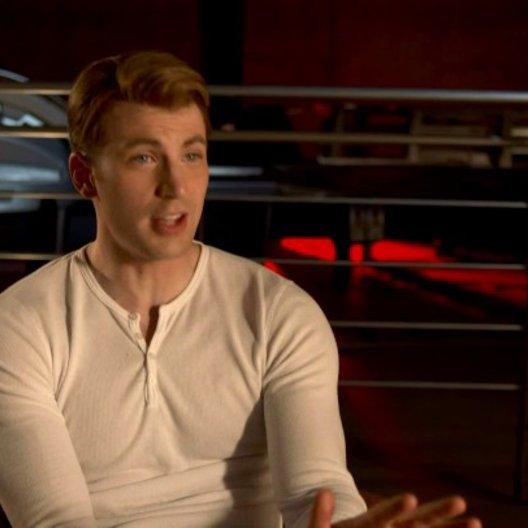 Chris Evans - Steve Rogers - Captain America über Regisseur Joss Whedon - OV-Interview Poster