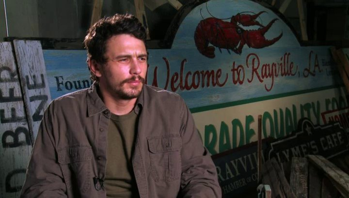 James Franco - Gator Bodine - über seine Rolle - OV-Interview Poster