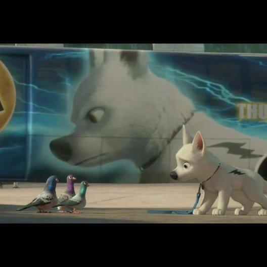 Bolt - Ein Hund für alle Fälle - OV-Trailer Poster