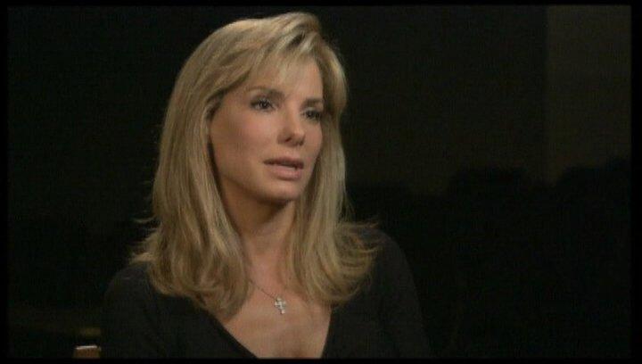 Interview mit Sandra Bullock (Leigh Anne Tuohy) - OV-Interview Poster