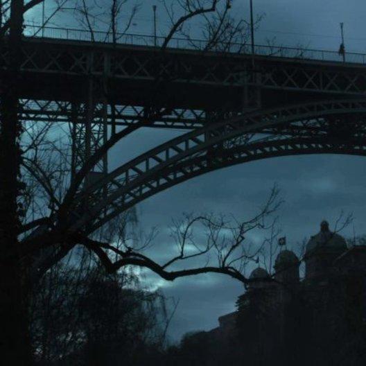 Die Frau auf der Brücke - Szene Poster