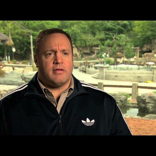 Kevin James über die Tiere am Set - OV-Interview Poster