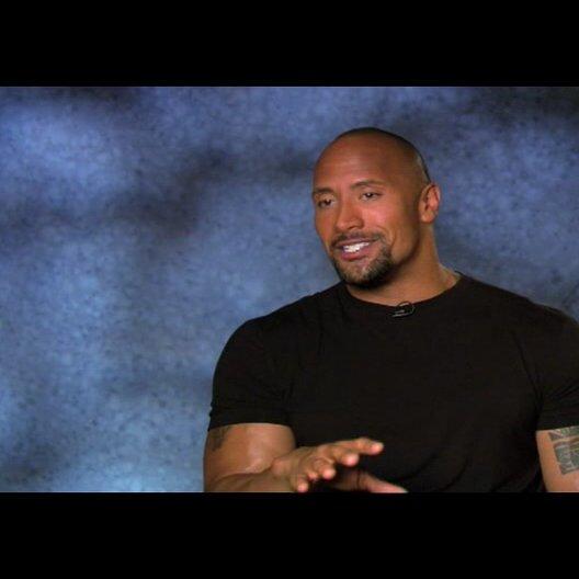 """Dwayne Johnson - """"Christopher Danson"""" über die Arbeit mit Samuel L Jackson - OV-Interview Poster"""
