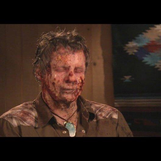 "Zombie ""Frank"" über Woody Harrelson - Interview Poster"