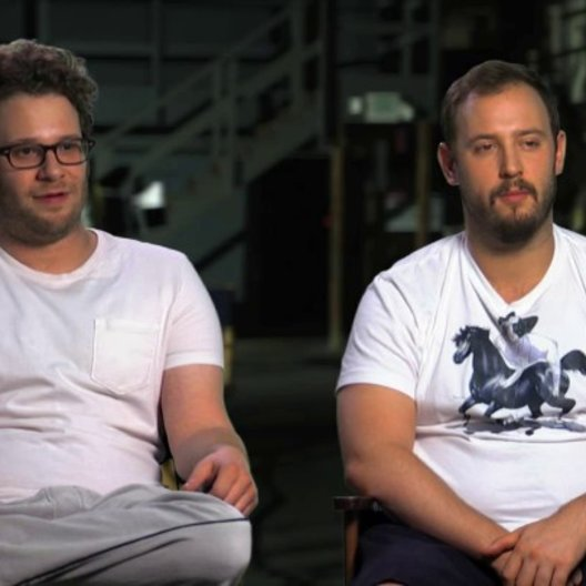 Seth Rogen und Evan Goldberg über Publikumsreaktionen - OV-Interview Poster