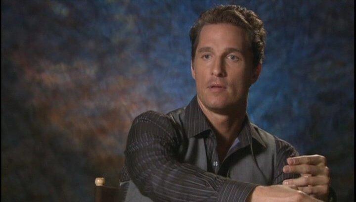 Matthew McConaughey - Connor Mead - OV-Interview Poster
