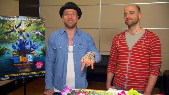 Mateo und Mr Reedoo - Pedro und Nico - über den Film - Interview Poster