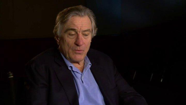 Robert de Niro -Don- über die Zusammenarbeit mit dem Drehbuchautor und dem Regisseur - OV-Interview Poster