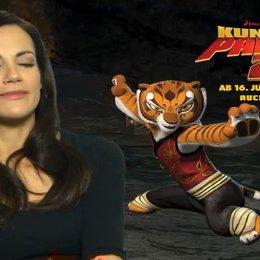 Bettina Zimmerman (Deutsche Stimme Tigress) über den Film - Interview Poster