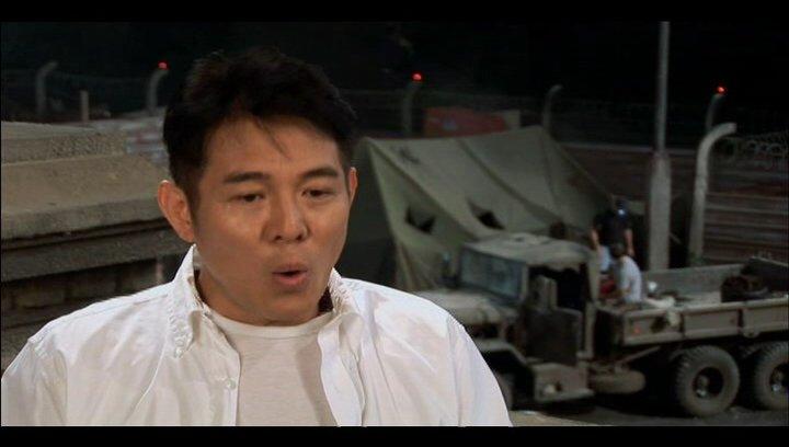Jet Li über seine Rolle - OV-Interview Poster