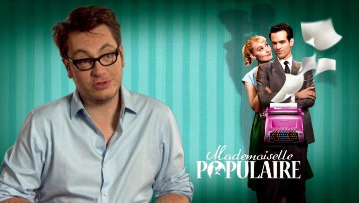 Regis Roinsard (Regisseur) darüber wie es zu seinem Kinodebut kam - OV-Interview Poster