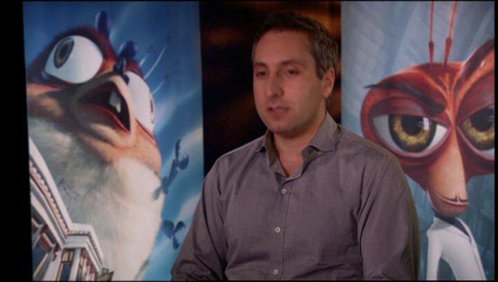 Rob Letterman / über die 3D Action Sequenzen - OV-Interview Poster