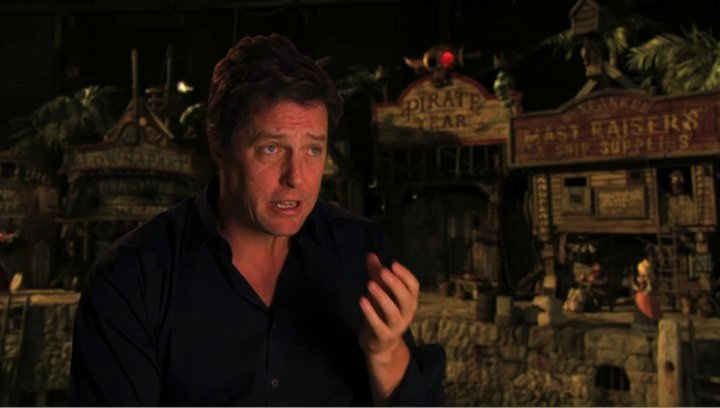 Hugh Grant über Peter Lord - OV-Interview Poster