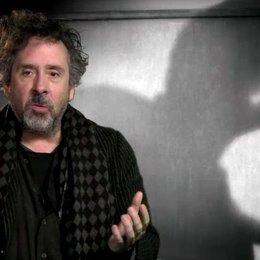 Tim Burton - Regisseur - über den Film - OV-Interview Poster