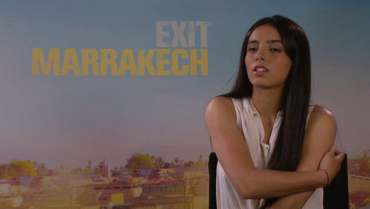 Hafsia Herzi - Karima - über ihre Rolle Karima - Interview Poster