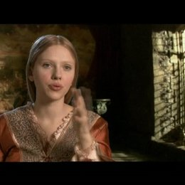 Interview mit Scarlett Johansson ( Mary Boleyn ) - OV-Interview Poster