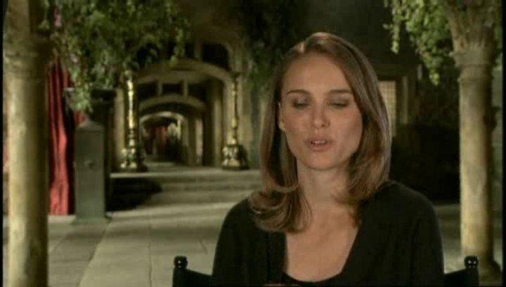 Interview mit Natalie Portman ( Anne Boleyn ) - OV-Interview Poster