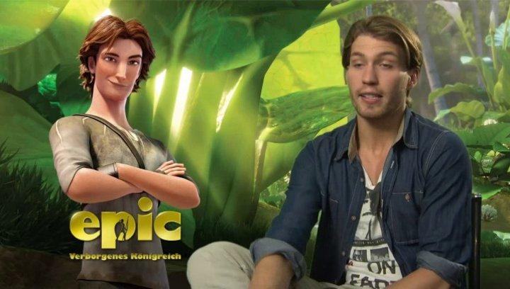 Raul Richter -Nod- über die Identifikation mit seiner Rolle - Interview Poster