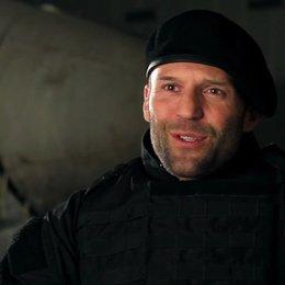 Jason Statham -Lee Christmas- über Stallone als Actionheld - OV-Interview Poster