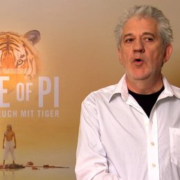 Ilja Richter worum es geht in LIFE OF PI - Interview Poster