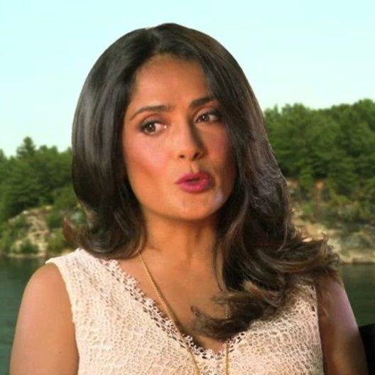 Salma Hayek über die Story und ihre Rolle - OV-Interview Poster